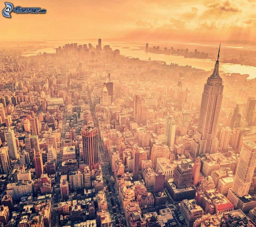 New York, výhľad na mesto