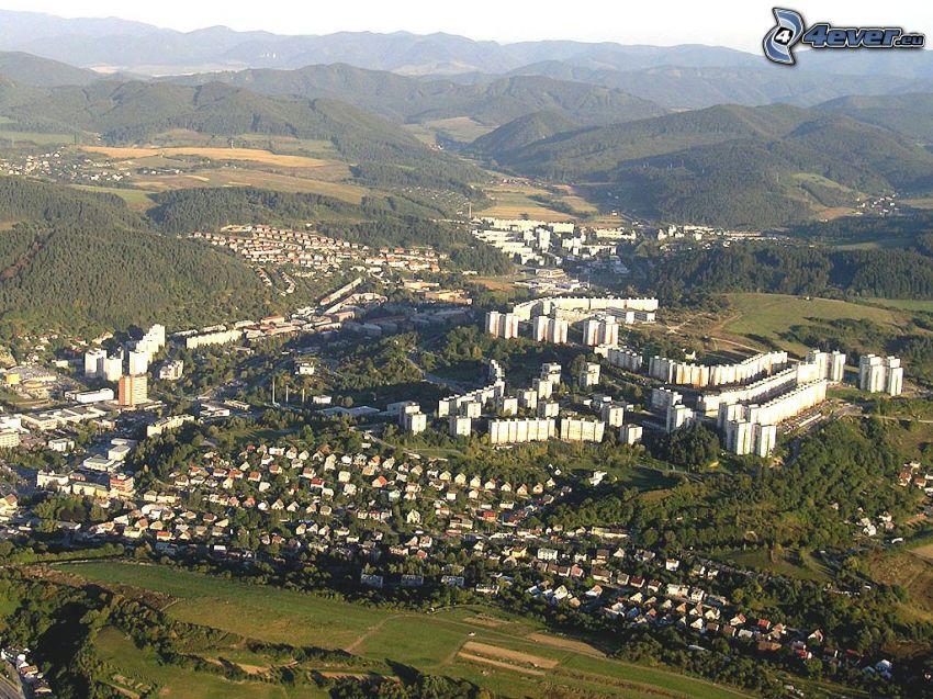 1b564a859 Považská Bystrica, letecký pohľad