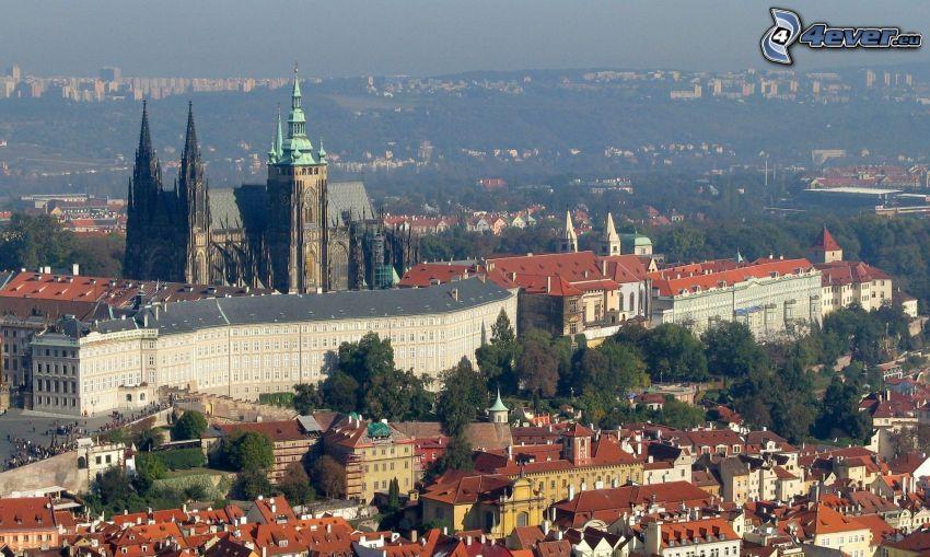 Praha, Pražský hrad