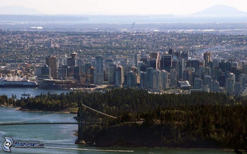 Vancouver, mrakodrapy