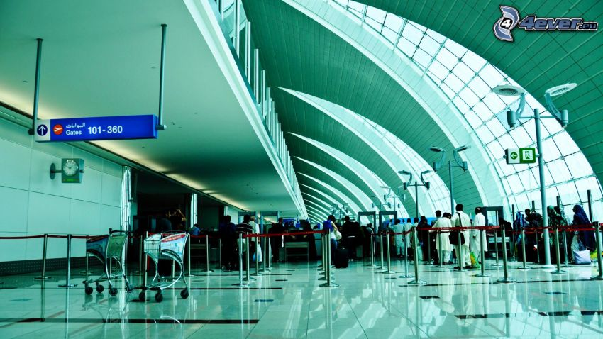 letisková hala
