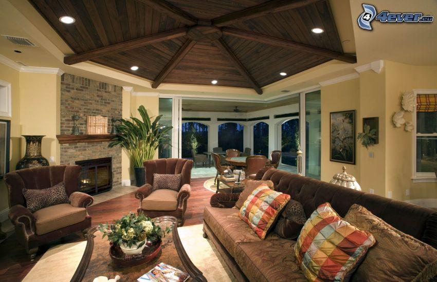 luxusná obývačka