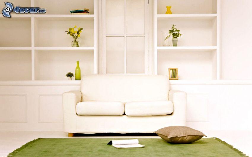 obývačka, gauč