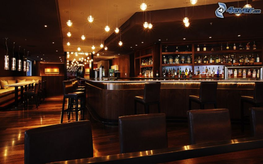 reštaurácia, bar