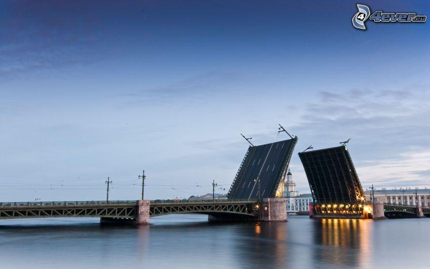 sklápací most