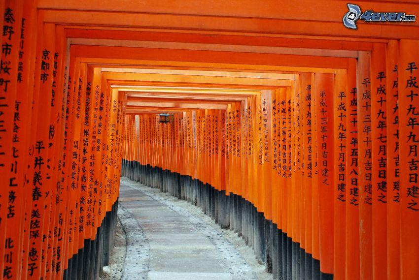tunel, čínske znaky