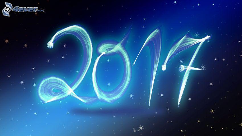 2017, hviezdy
