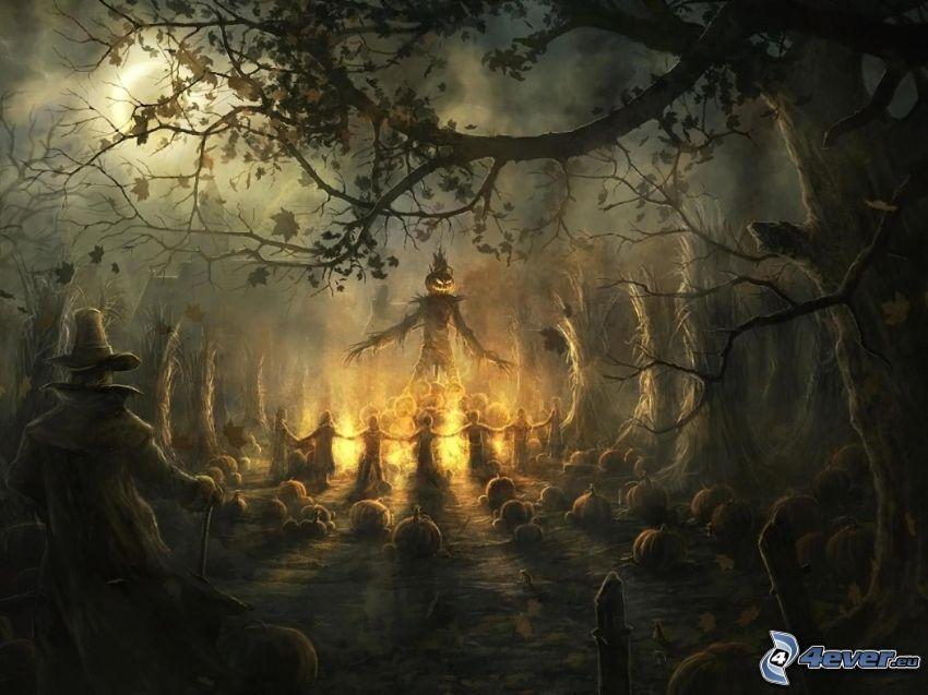 Halloween, halloweenske tekvice