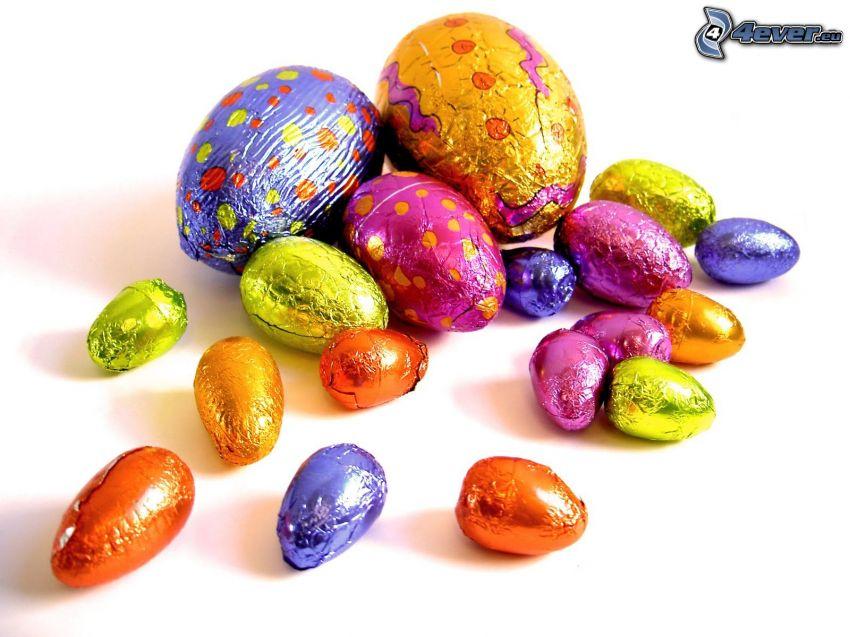 čokoládové vajíčko