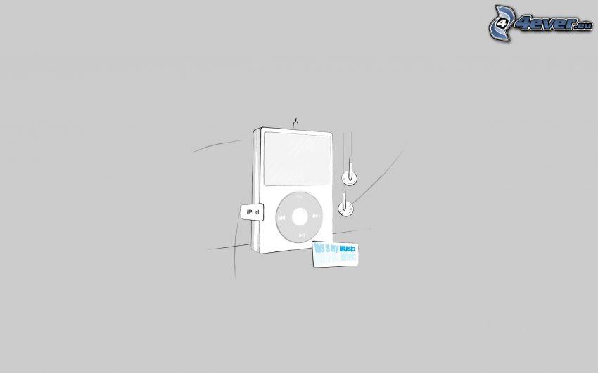 iPod, mp3