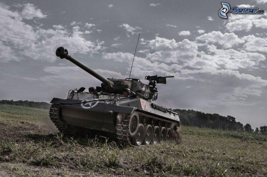 M18 Hellcat, tank, pole
