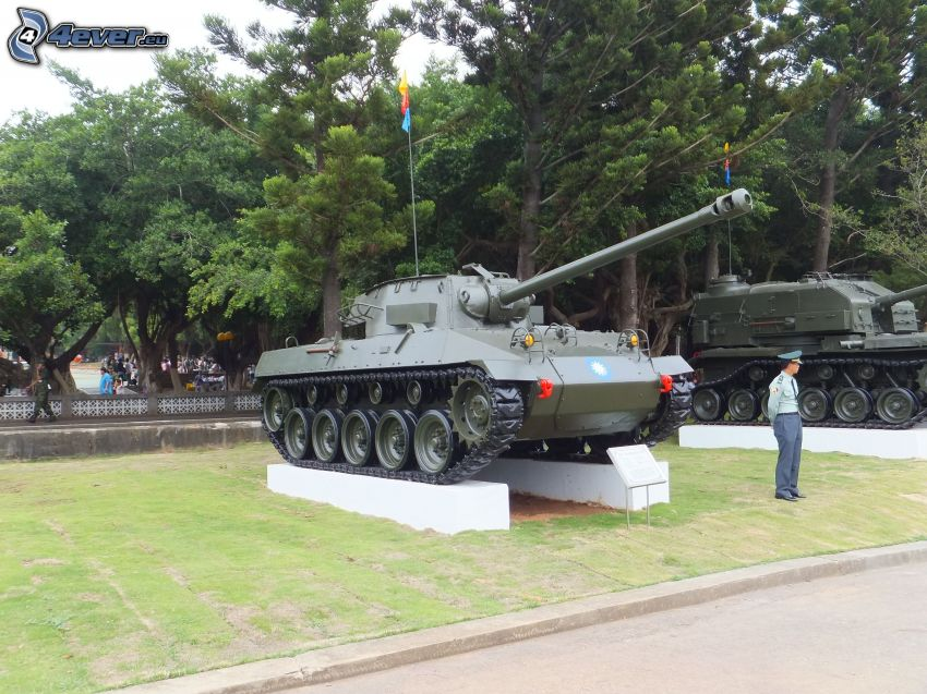 M18 Hellcat, tanky, výstava, park