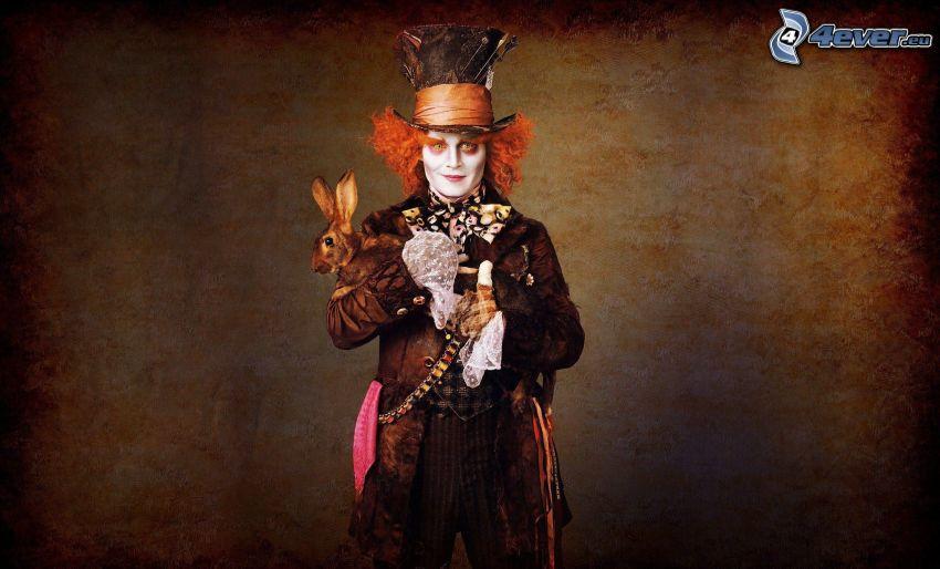 Alica v krajine zázrakov, klaun