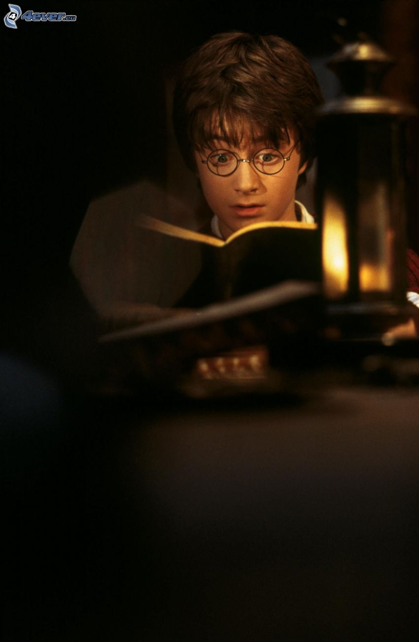 Harry Potter, kniha
