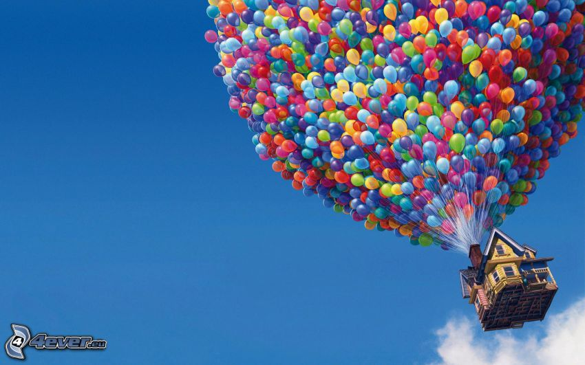 Hore, balóny