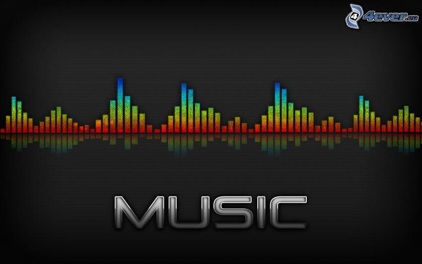 hudba, music, equalizer