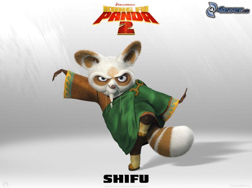 Mr. Shifu, Kung Fu Panda