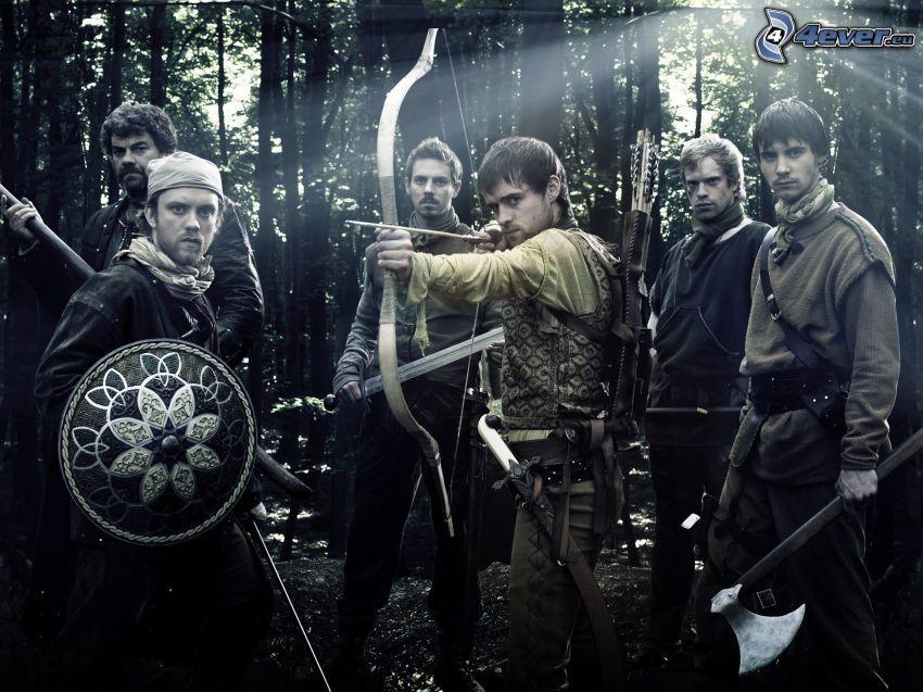 Robin Hood, lukostrelec, stredovek