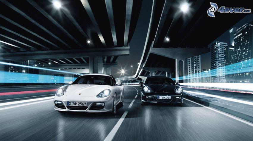 Rýchlo a zbesilo, Porsche, rýchlosť