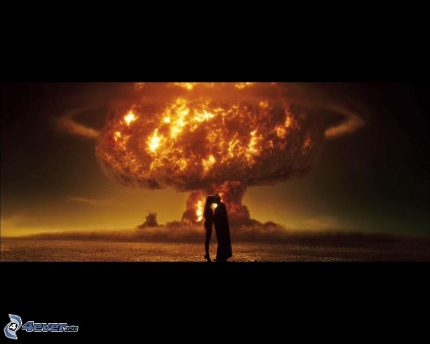 Watchmen, atómový výbuch
