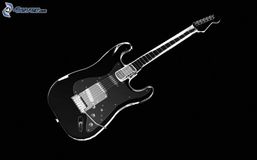 elektrická gitara