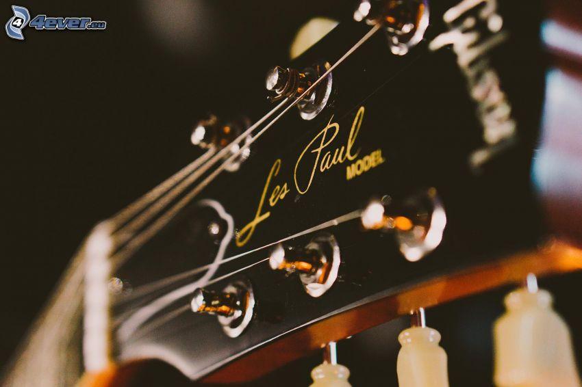 gitara, hlava gitary