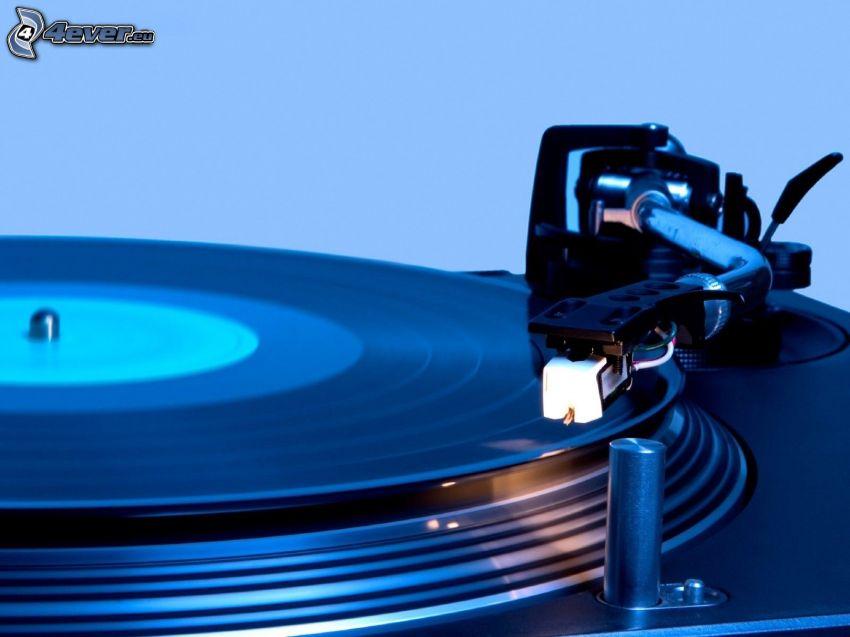 gramofón, platňa