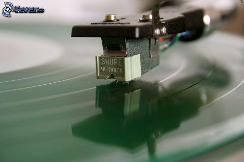 platňa, gramofón