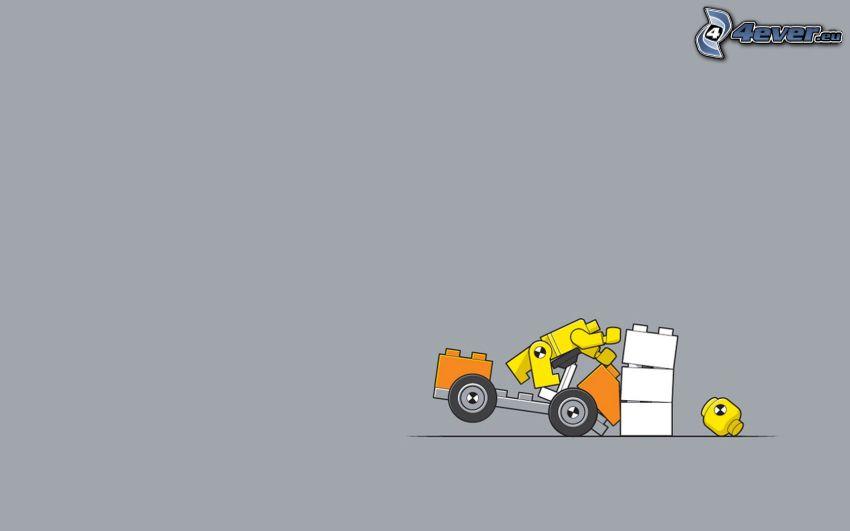 Lego, havária