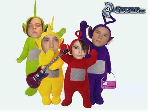 Teletubbies, Tokio Hotel, paródia