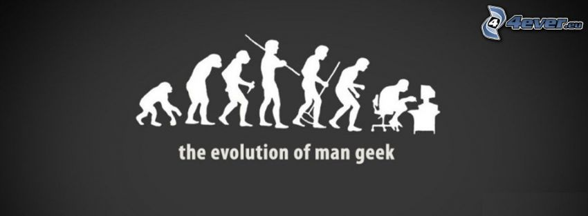 evolúcia, geek