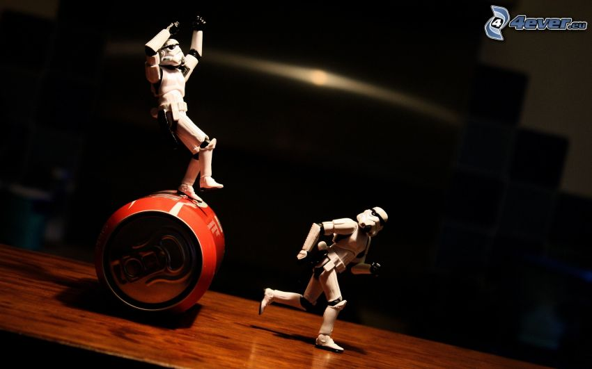 Stormtrooper, plechovka, paródia