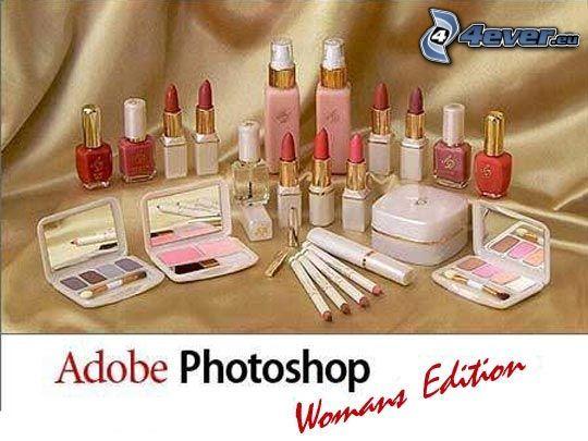 Adobe Photoshop - Womans Edition, kozmetika, rúž