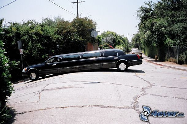 limuzína, kopec