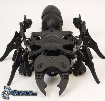 robotický pavúk