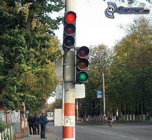 semafóry