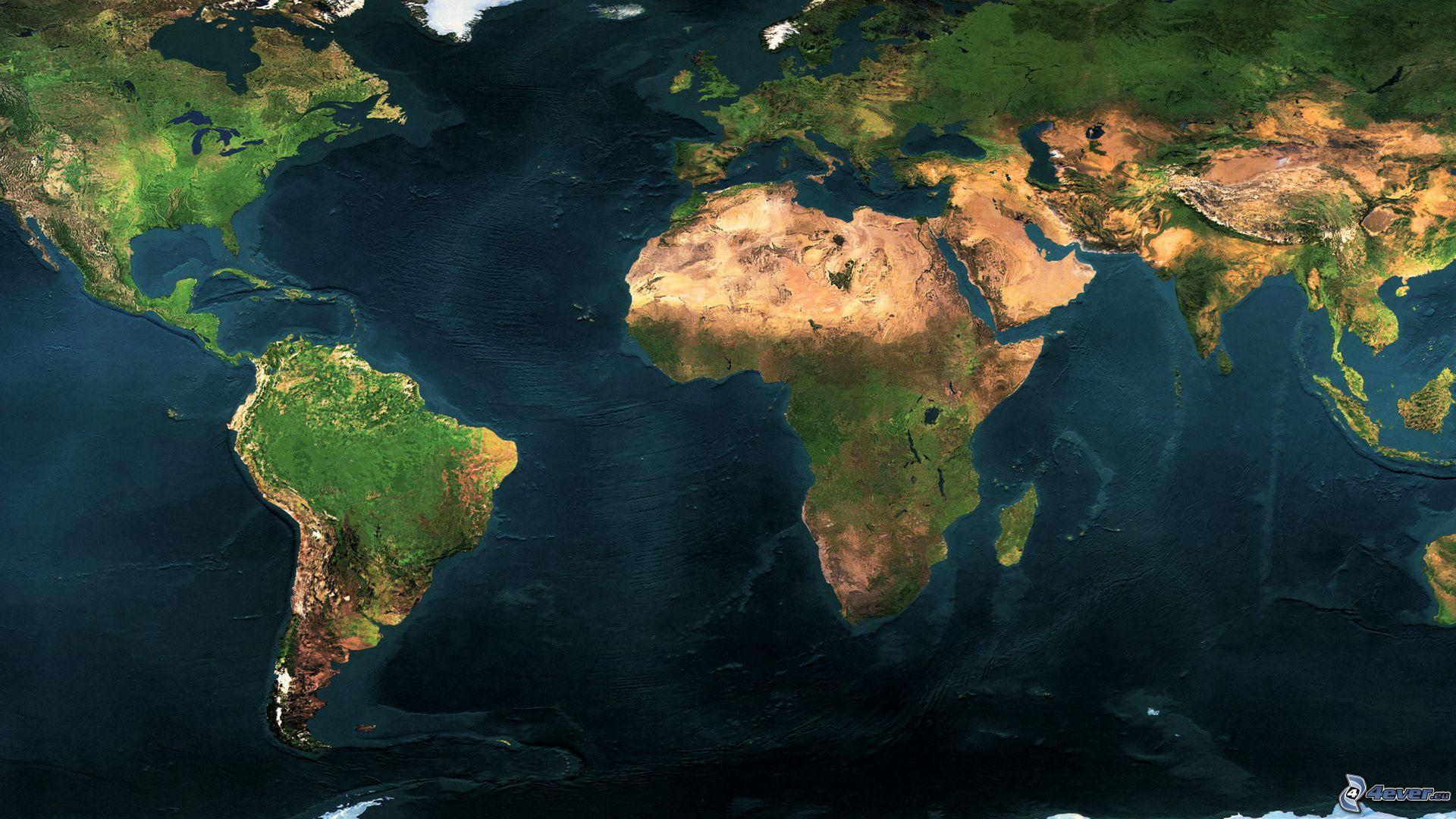 mapa sveta satelit Svet mapa sveta satelit