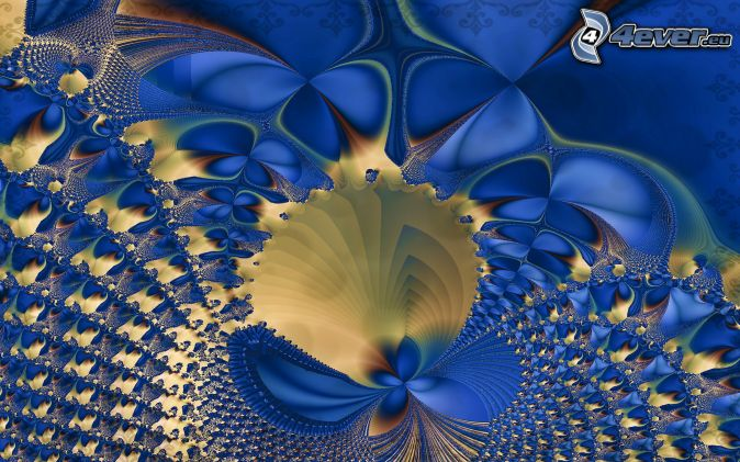 abstract, fractal