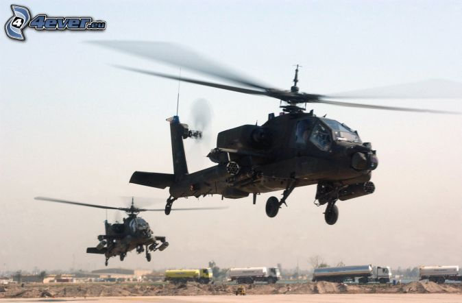 AH-64 Apache, camions