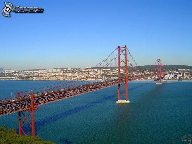 25 de Abril Bridge, Lisbon