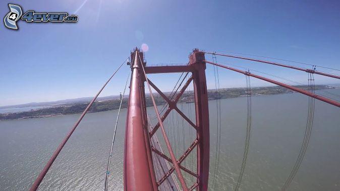 25 de Abril Bridge, view