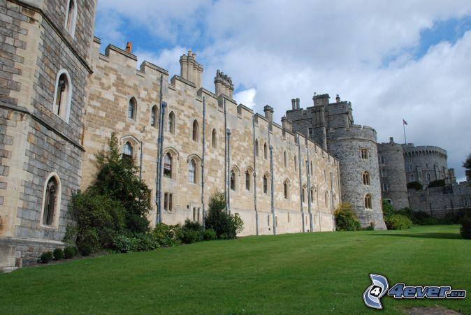 Windsor Castle, lawn