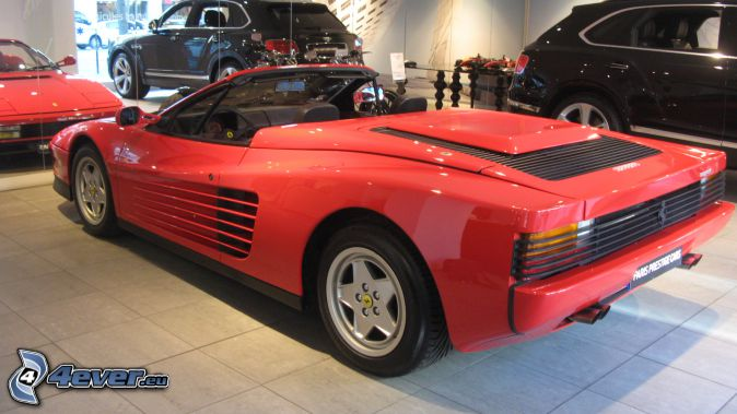 Ferrari TR, convertible