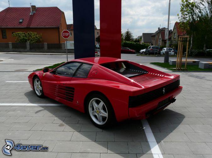Ferrari TR, streets, stop