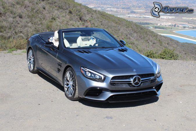 Mercedes SL, convertible