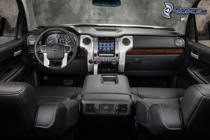 Toyota Tundra, interior, dashboard, steering wheel
