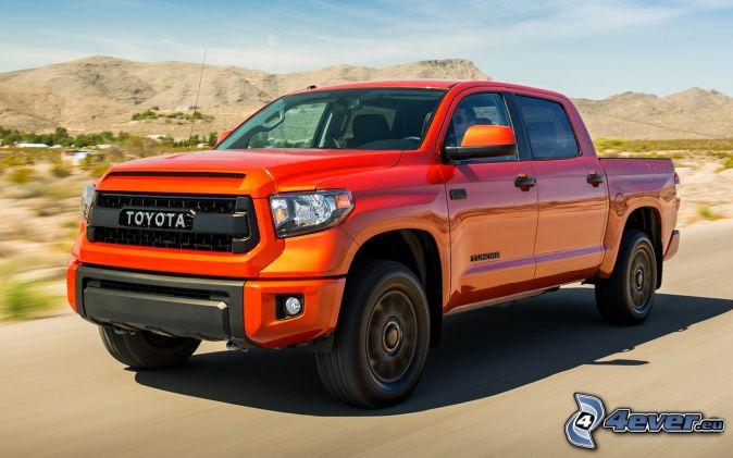 Toyota Tundra, mountain