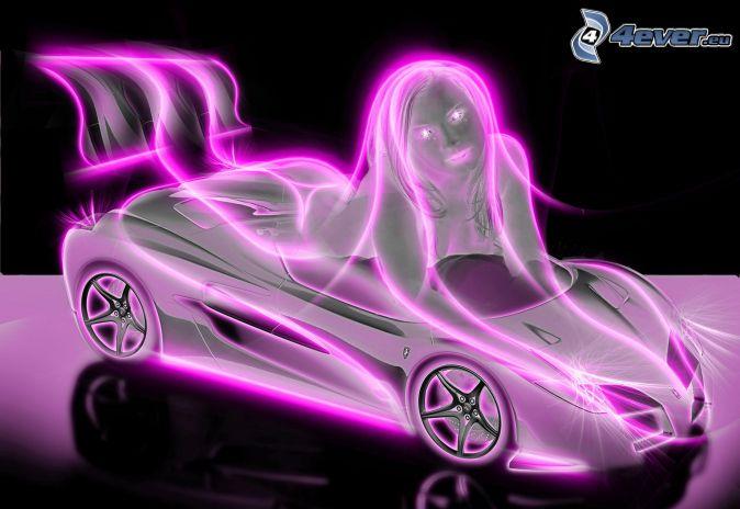 Car woman neon 191153g jpeg image 674 464 pixels neon car woman neon 191153g jpeg image 674 464 pixels neonglow pinterest wheels sciox Choice Image
