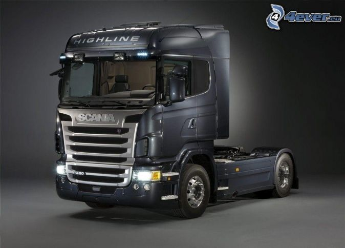 Scania R480, road tractor