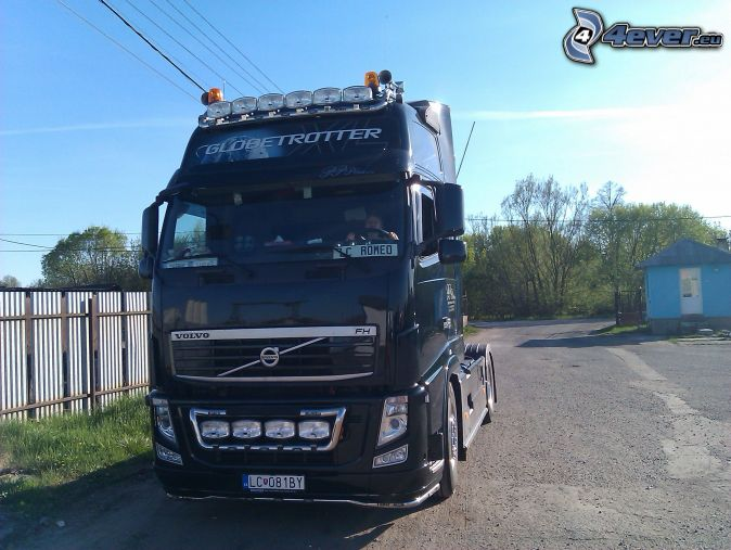 Volvo 500 , Globetrotter , truck , road tractor